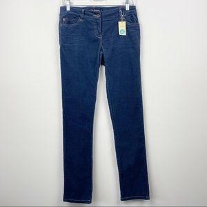 MINI BODEN NEW Blue Navy Corduroy Kids Straight Leg Pants NWT 14